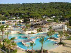 The water park of campsite Les Tournels (Ramatuelle)