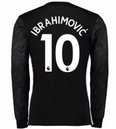Billiga Manchester United Zlatan Ibrahimovic 10 Bortatröja 17-18 Långärmad Neymar Jr, Manchester United, Real Madrid, Premier League, The Unit, Sports, Sweaters, Tops, Fashion