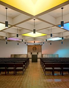 Blessed Sacrament Chapel and Abbey Church Pavilion--Modifications to Marcel Breuer's 1961 St.John's Abbey Church Project; Collegeville, MN