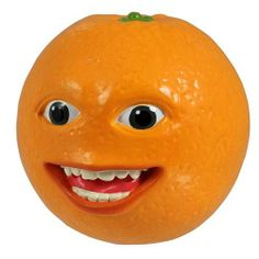 """Annoying Orange - Collectible Talking PVC Figure - SMILIN' ORANGE (4 inch scale) by License 2 Play. $4.99. Scan the QR code on the box for an exclusive Annoying Orange video. Each character says 8-12 phrases and puns from the Youtube episodes you love. Officially licensed. PVC construction. Hilarious 4"""" scale figure with sound. It's carnage in the kitchen but there's only one guy who keeps wise crack'n cool. The Smiling Orange Talking PVC Figure is detailed and textured and ..."""