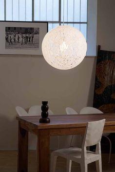 Emporium Reload Sospensione Ø 55 cm 1 Luce Bianco