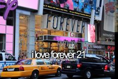 And I love that particular Forever 21 in the picture