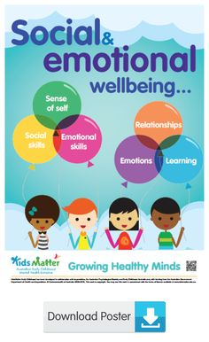 Social and emotional wellbeing is ... | kidsmatter.edu.au Early Childhood Mental Health