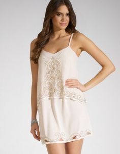 Lipsy Embellished 2 In 1 Cami Dress