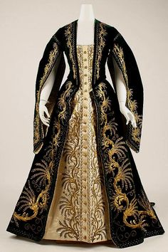 Russian court gown