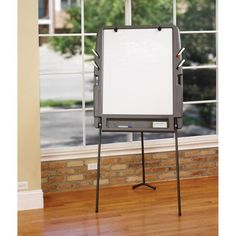 Iceberg Collaboration Easels Portable Flipchart Easel with Dry-Erase Surface - 30227