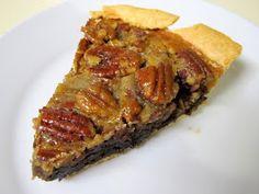 I Believe I Can Fry: Brownie Pecan Pie