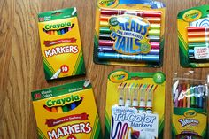 Back-to-School with Crayola and a $25 VISA Gift Card Give Away
