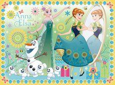 Elsa and Anna - frozen-fiebre congelada foto