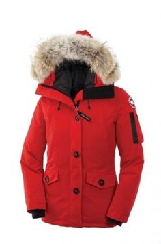 Canada Goose Montebello Parka Women Red With Fast Delivery - $279