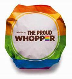 Burger King has revealed the Proud Whopper, a burger with a very special message for Gay Pride ...
