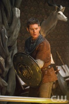 """Supernatural -- """"LARP and the Real Girl"""" -- Image SN811b_0589 -- Pictured: Jensen Ackles as Dean -- Credit: Liane Hentscher/The CW --  © 2012 The CW Network. All Rights Reserved"""