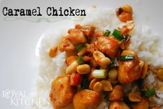 Caramel Chicken Recipe. It's like Take-Out at Home!