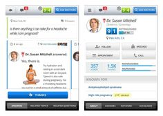 HealthTap  Mobile app HealthTap recently saw an update, adding the ability to ask doctors private one-on-one questions for free. The mobile app already lets you ask medical questions which are published publically for free. The updated version makes things private for $9.99 a question, with the ability to ask a followup question for an additional $4.99.