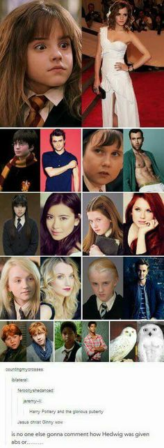 Rupert is the same!!  I wished he played every single character In every single movie