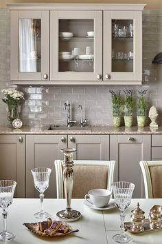 Ikea Kitchen Design, Kitchen Cabinet Design, Modern Kitchen Design, Interior Design Kitchen, Farmhouse Kitchen Decor, Home Decor Kitchen, Home Kitchens, Kitchen Ideas, Modern Farmhouse