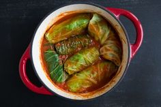 Vegan Cabbage Rolls are a staple in our household, particularly in winter. Where I'm from, this dish is made with meat and is called sarma. Enjoy!