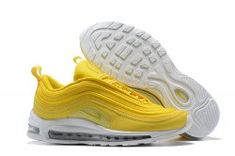 a2d25656df Unisex Nike Air Max 97 Mustard Yellow White 921733 701 Men's Women's  Running Shoes Nike Air