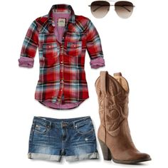 37 Trendy Ideas for short boats outfit summer country girls jeans Country Girl Outfits, Country Girl Style, Country Fashion, Cowgirl Outfits, Country Girls, My Style, Cowgirl Clothing, Country Dresses, Cowgirl Fashion