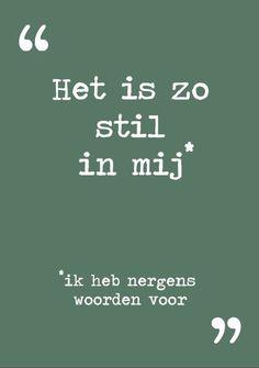 12-11 het is zo stil in mij tekst: Van Dik Hout