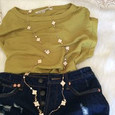 Rachel Roy Crew Neck w/ruching at shoulder Beautiful chartreuse color for that just right pop!  Amazing with green or blue eyes.  Super casual but with a silky soft sheen. Hand wash, 100% polyester. Cute with white jeans/shorts. Fits like a Small vs XS RACHEL Rachel Roy Tops Blouses