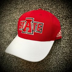 Wolf Hat, Cool Hats, Red Hats, Arkansas, Baseball Hats, Adidas, Black And White, Men, Fashion
