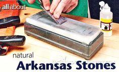 Arkansas Stone Sharpening - Sharpening Tips, Jigs and Techniques | WoodArchivist.com