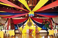 Decoración de fiesta temática colombiana. #FiestaTematicaColombiana 40th Birthday Parties, 2nd Birthday, Latin Party, Soccer Party, Holidays Halloween, Party Themes, Party Ideas, Event Decor, Diy Wedding