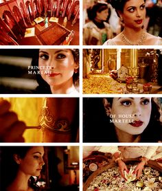 Mariah Martell. Sister of Prince Maron, wife of King Daeron II Targaryen. Their marriage brought peace between Dorne and the rest of the Seven Kingdoms after the failed conquest of King Daeron I. #asoiaf