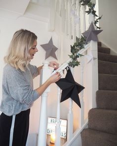 Here's how I got on making my own DIY paper star decorations and how you can make some too. Christmas Makes, Christmas Is Coming, Christmas Time, Star Decorations, Christmas Decorations, Flower Arrangements Simple, Wall Hanging Crafts, Star Diy, Paper Stars