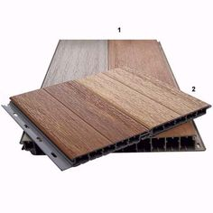 If you're looking to perfect your yard with a new deck, learn the pros and cons of the various patio decking materials with our guide at This Old House. Pvc Decking, Plastic Decking, Decking Material, Under Deck Storage, Pallet Shed, Under Decks, Pool Cabana, New Deck, Backyard
