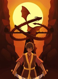 Zuko and the dragons