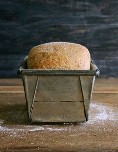 The Candid Kitchen: Harissa wholemeal loaf {Dairy free}