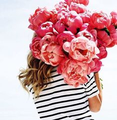 Gorgeous peonies- in love