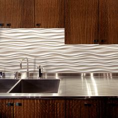 Love this stuff....Kitchen and/or bathroom backsplash- Dune ModularArts