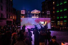 Visual System's UT Truckshop: A Mobile, Reactive Light Sculpture | Video | The Creators Project