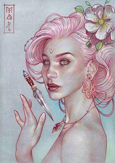 Wonderful pieces of art by Marta Adán