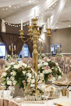 gold and champagne wedding.. maybe buy some at good will and spray paint for food tables