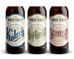 White Street Brewing Co. on Packaging of the World - Creative Package Design…