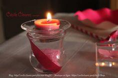 Vidéo YouTube : Idée déco de table, tout en rose. Photo et montage Cécile Cloarec Conseillère PartyLite