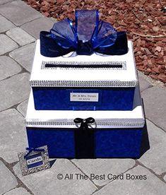 Royal Blue Flowers, Royal Blue And Gold, Blue And Silver, Navy Blue, Royal Blue Bridesmaid Dresses, Royal Blue Dresses, Royal Blue Centerpieces, Card Box Wedding, Wedding Ideas