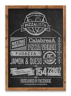 PizzaLista - 2013 on Behance