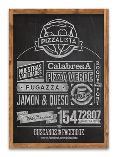 PizzaLista - 2013 on Behance
