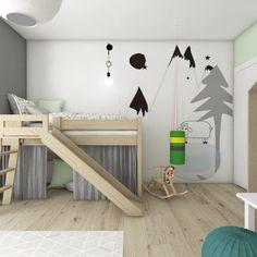 moderne Kinderkamer door BAGUA Pracownia Architektury Wnętrz