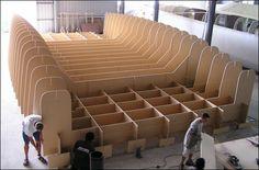 Lidgard Yacht Design, boat designers, 45ft sailing catamaran building images