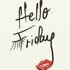 Happy Friday Gorgeous!! We never get tired of saying that!! Xo 🙌 #TGIF #weekendisnear