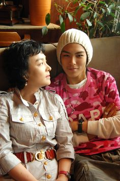 top and his mommy