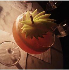 Cocktail Garnish, Food Garnishes, Pumpkin Carving, Food And Drink, Wings, Cocktails, Craft Cocktails, Pumpkin Carvings, Cocktail