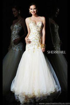 Sherri Hill Prom Dresses and Sherri Hill Dresses 1572 at Peaches Boutique