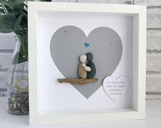 Personalised Cornish Pebble Art made just for you! by TillyJaneCrafts Pebble Pictures, Art Pictures, Gifts For New Parents, Gifts For Family, Baby Design, New Baby Checklist, Pebble Art Family, Personalized Mother's Day Gifts, Picture Gifts